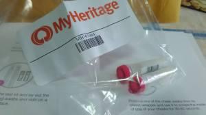 Envio meu ADN para o Projeto Populações Fundadoras do MyHeritage.com