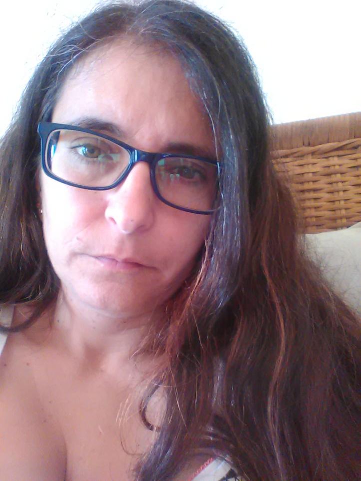 Com os óculos novos